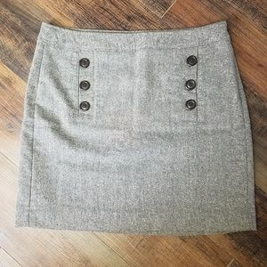 Banana republic size 8 brown twill skirt